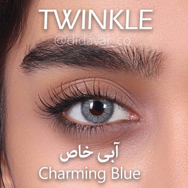لنز رنگی آبی خاص